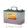 DEKA Solar 8A31DT-DEKA AGM Deep Cycle Battery 12V, 110 Ah@C/100 Hr Rate DT Terminal