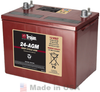 Trojan 24-AGM 12V, 76AH (20HR) AGM Sealed Battery