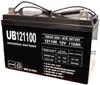 Universal Ub121000 12V, 100Ah (20Hr) Sealed Agm