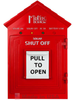 Midnite Solar Birdhouse Emergency Disconnect Switch - Red