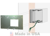 Outback FW-MB3-F, FLEXware MATE3 Flat Mount Wall Plate