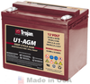Trojan U1-AGM 12V, 33AH (20HR) AGM Sealed Battery