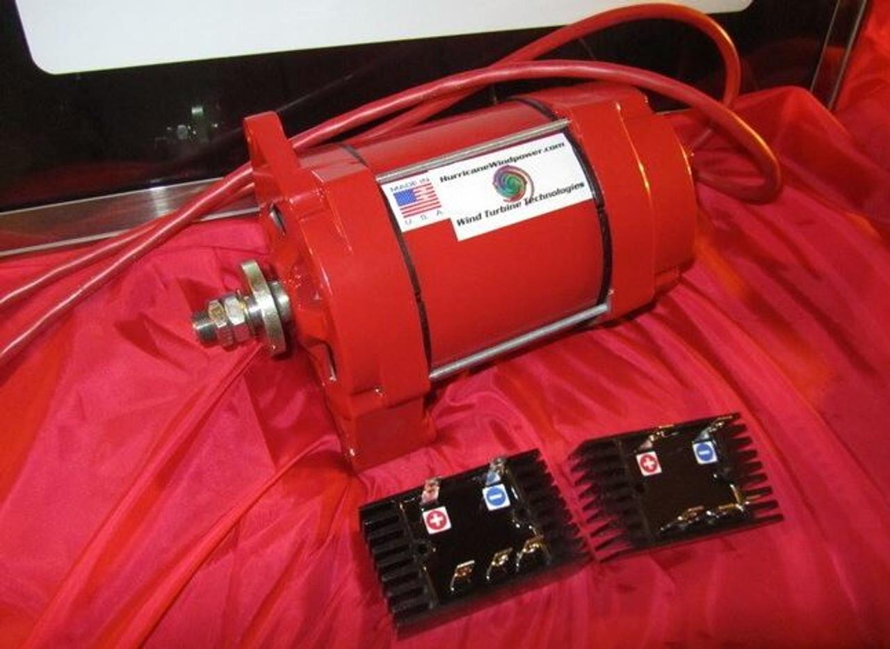 Hurricane Cat 5 marine permanent magnet alternator