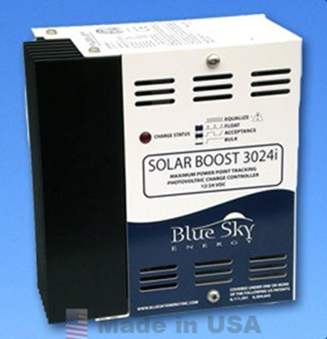 Blue Sky Solar Boost 3024iL Solar Charge Controller, No Display