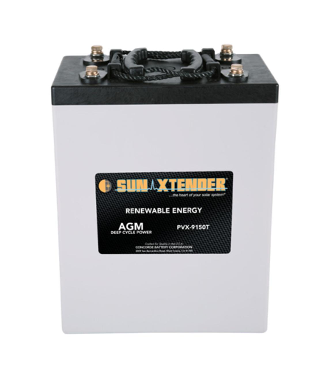 Concorde Sun Xtender PVX-9150T 2V, 915AH AGM Battery