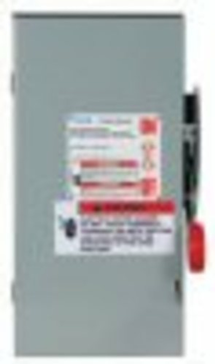 Eaton DH161URKN 600VDC, 30 Amp Unfusible Disconnect