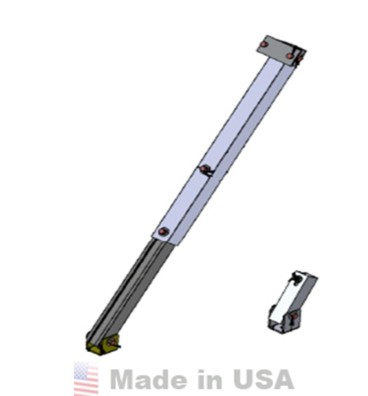 "IronRidge Adjustable Tilt Leg, 28"" (30-46"")"