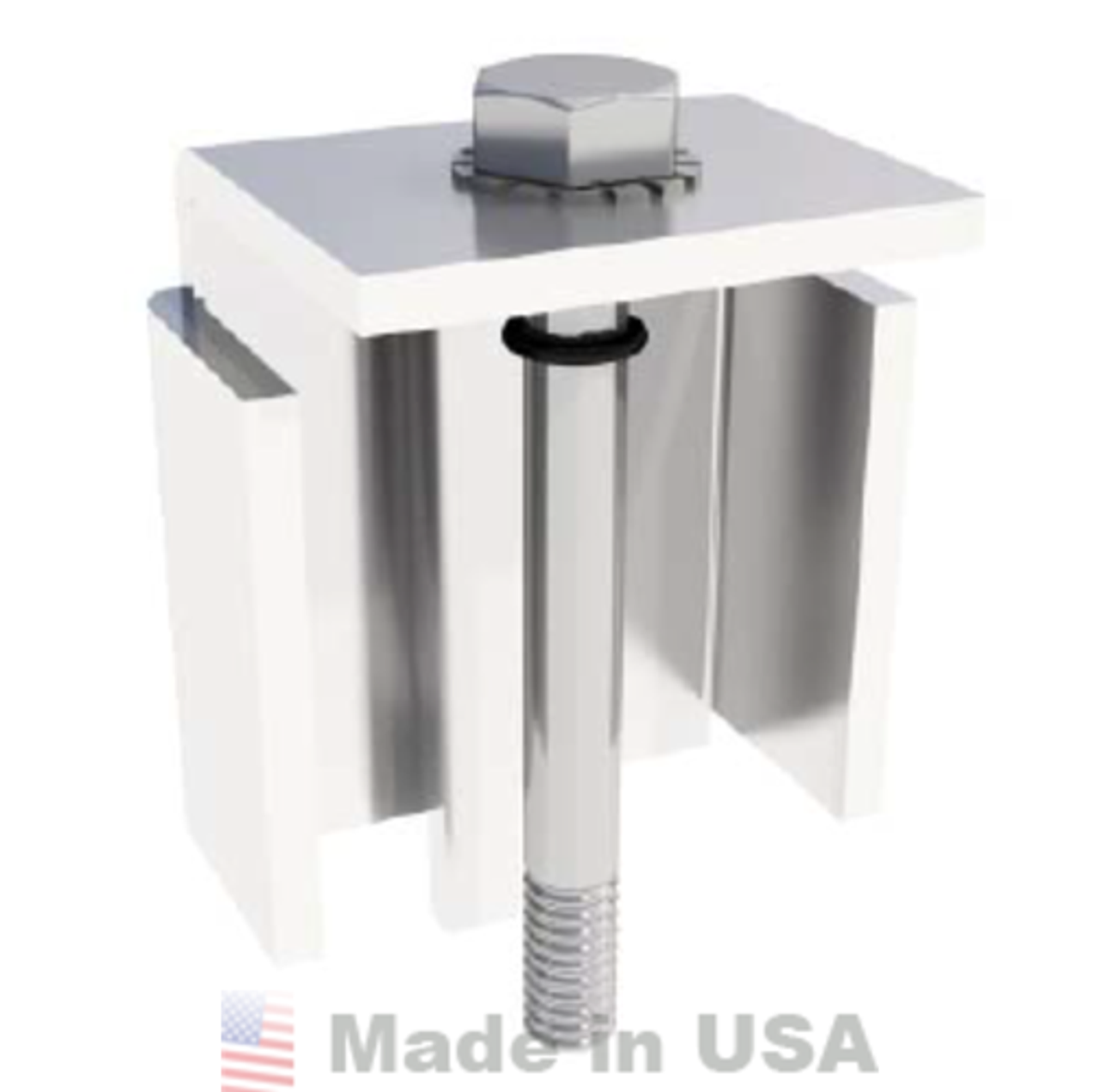 IronRidge BRM Ballast Module Clamp (Fits 32.5mm - 33.4mm)