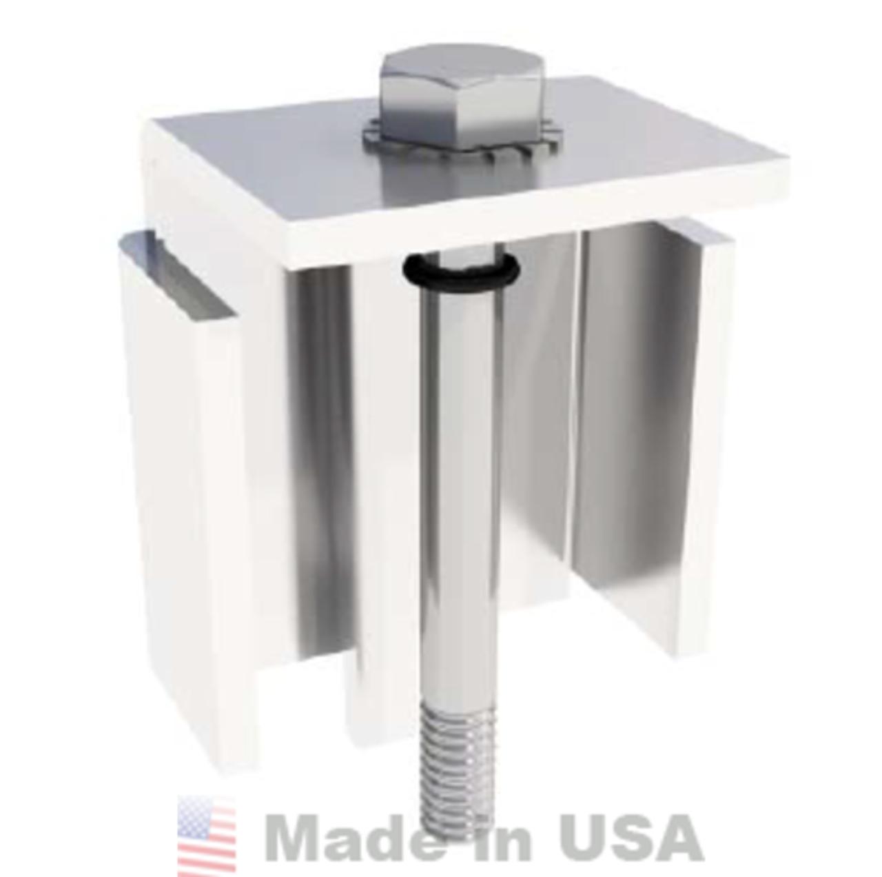 IronRidge BRM Ballast Module Clamp (Fits 41.5mm - 42.4mm)