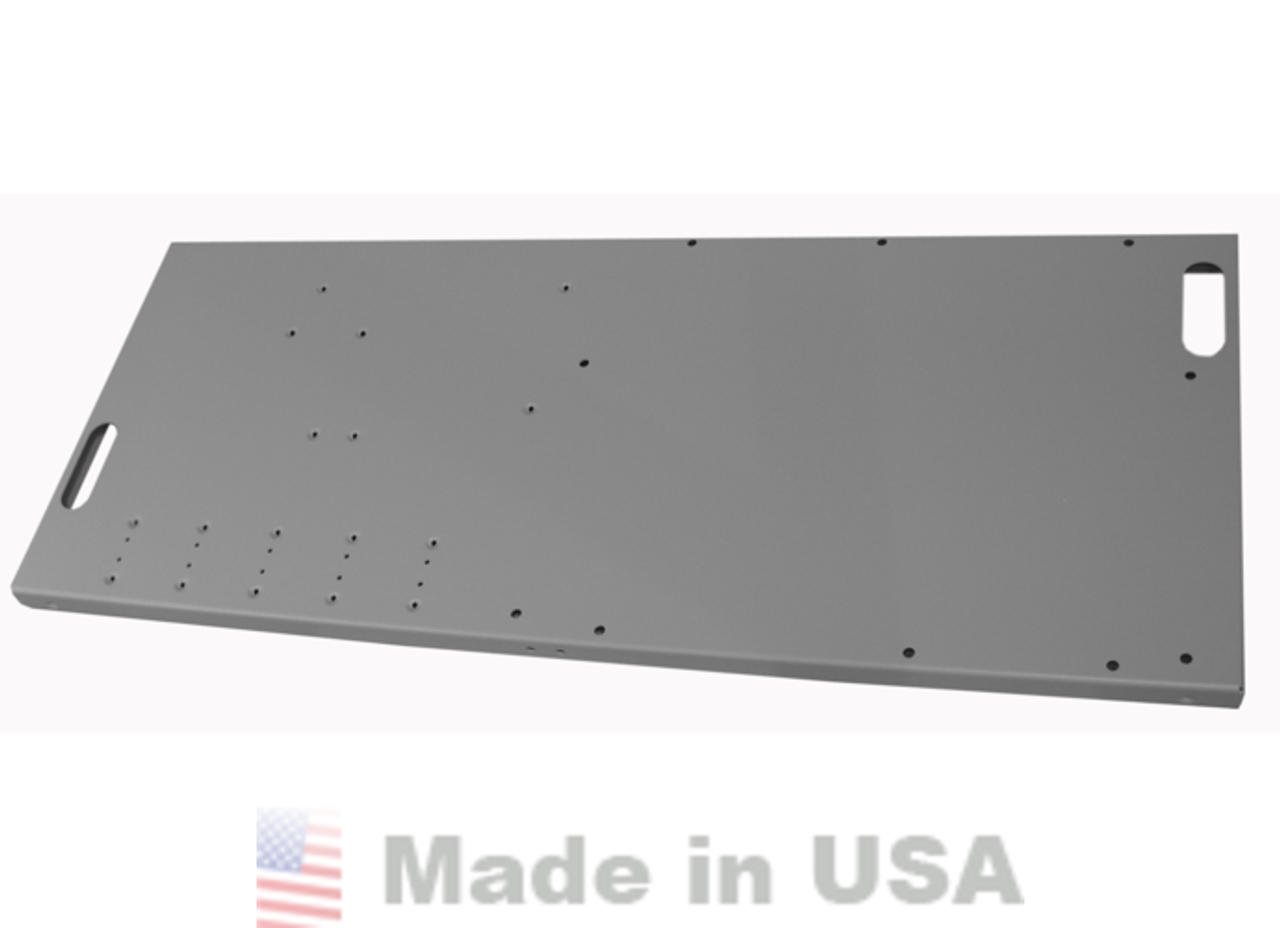 Extra shelf for MNBE-C, MNBE-D, or MNBE-E Battery Enclosures