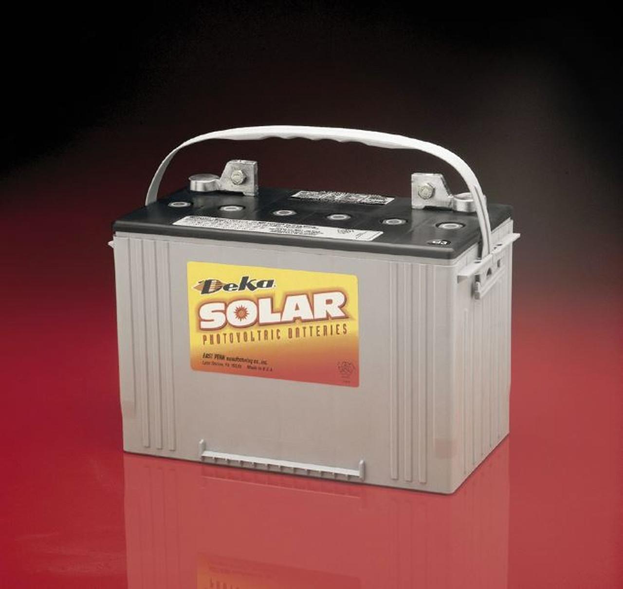 MK DEKA 8A27-DEKA SLD AGM Deep Cycle Battery,12V,100Ah@C/100 Hr Rate T876 Terminal