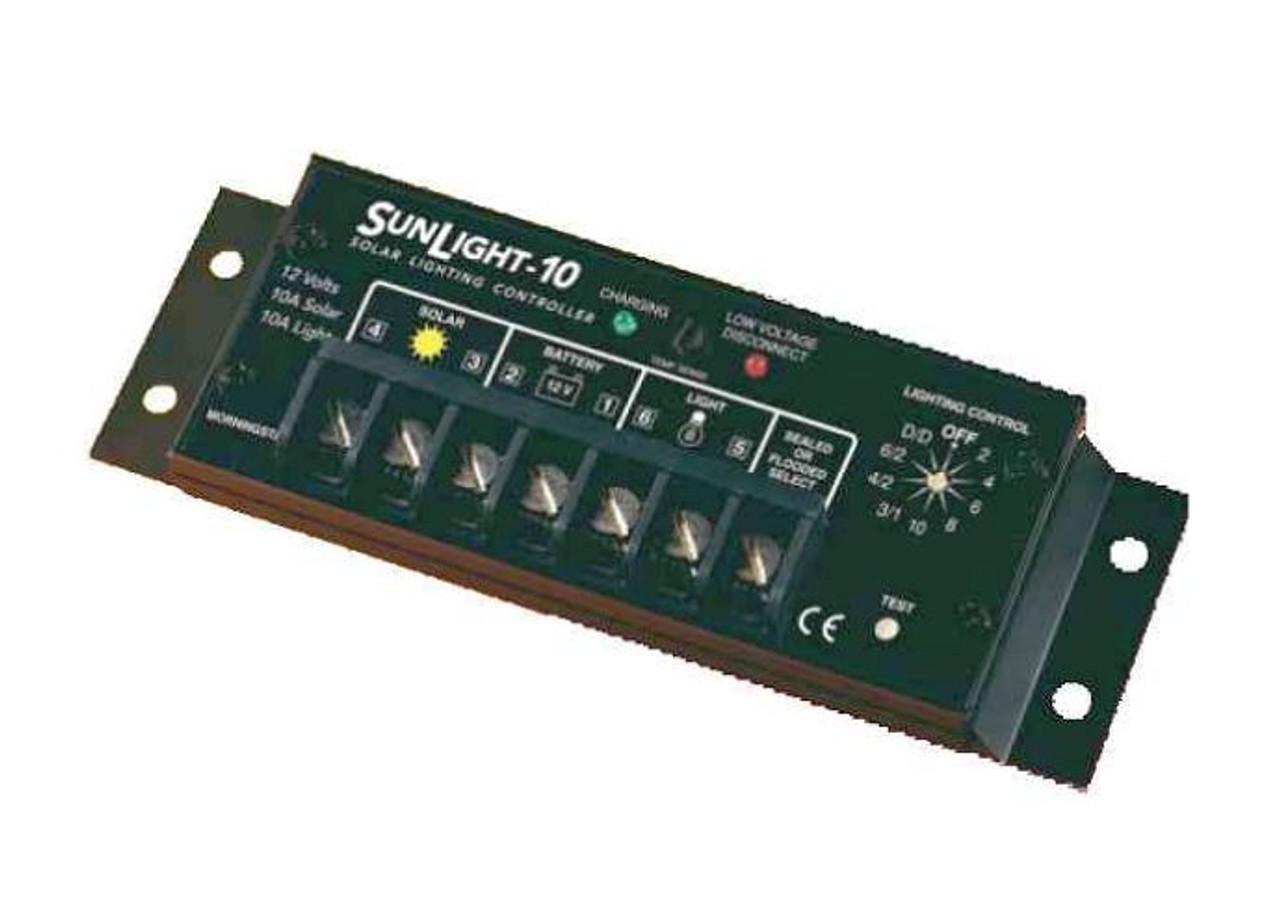 Morningstar SunLight SL-10L-12V 10A, Lighting Controller with LVD