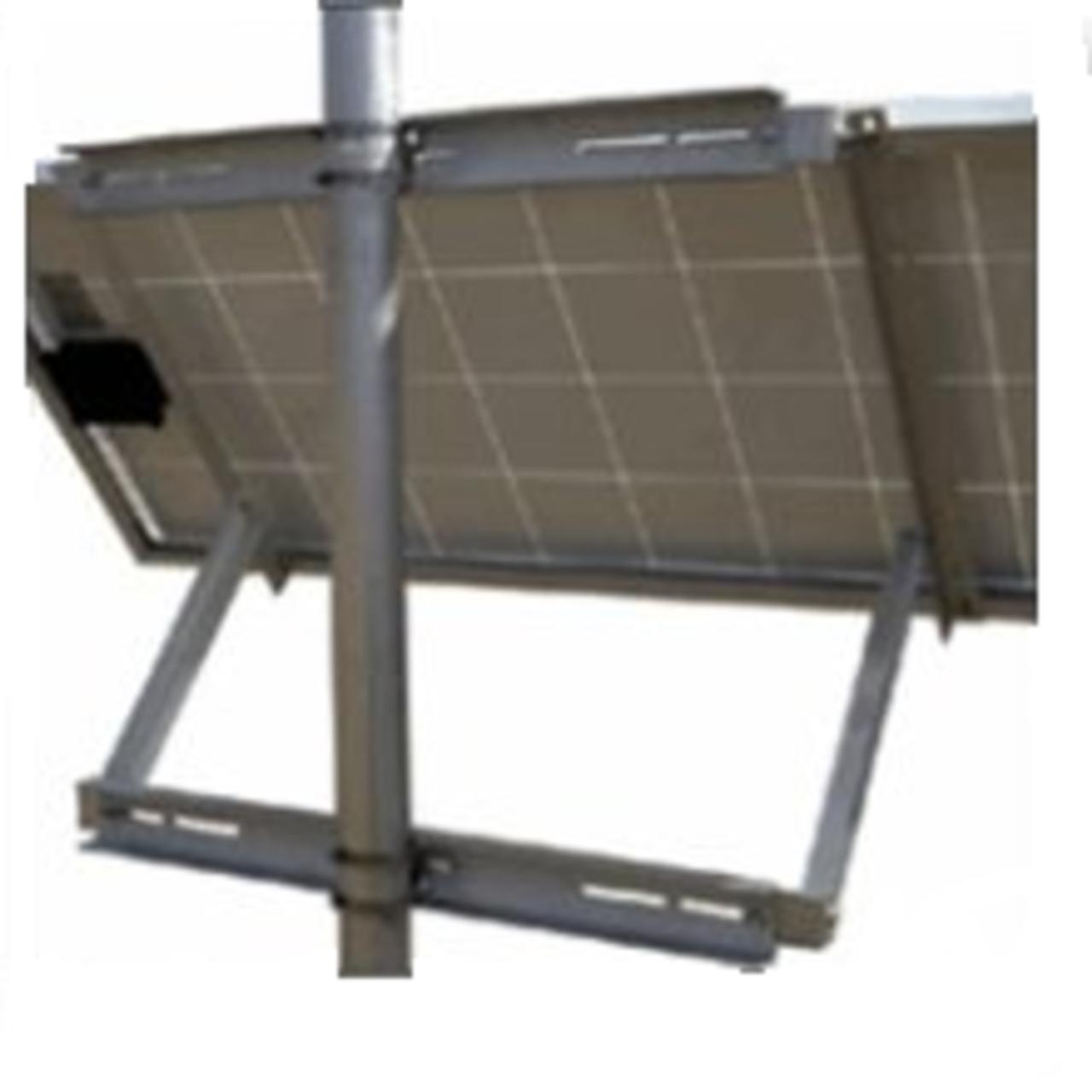"""SunWize Adjustable Side-of-Pole Mount, 35"""" Support"""