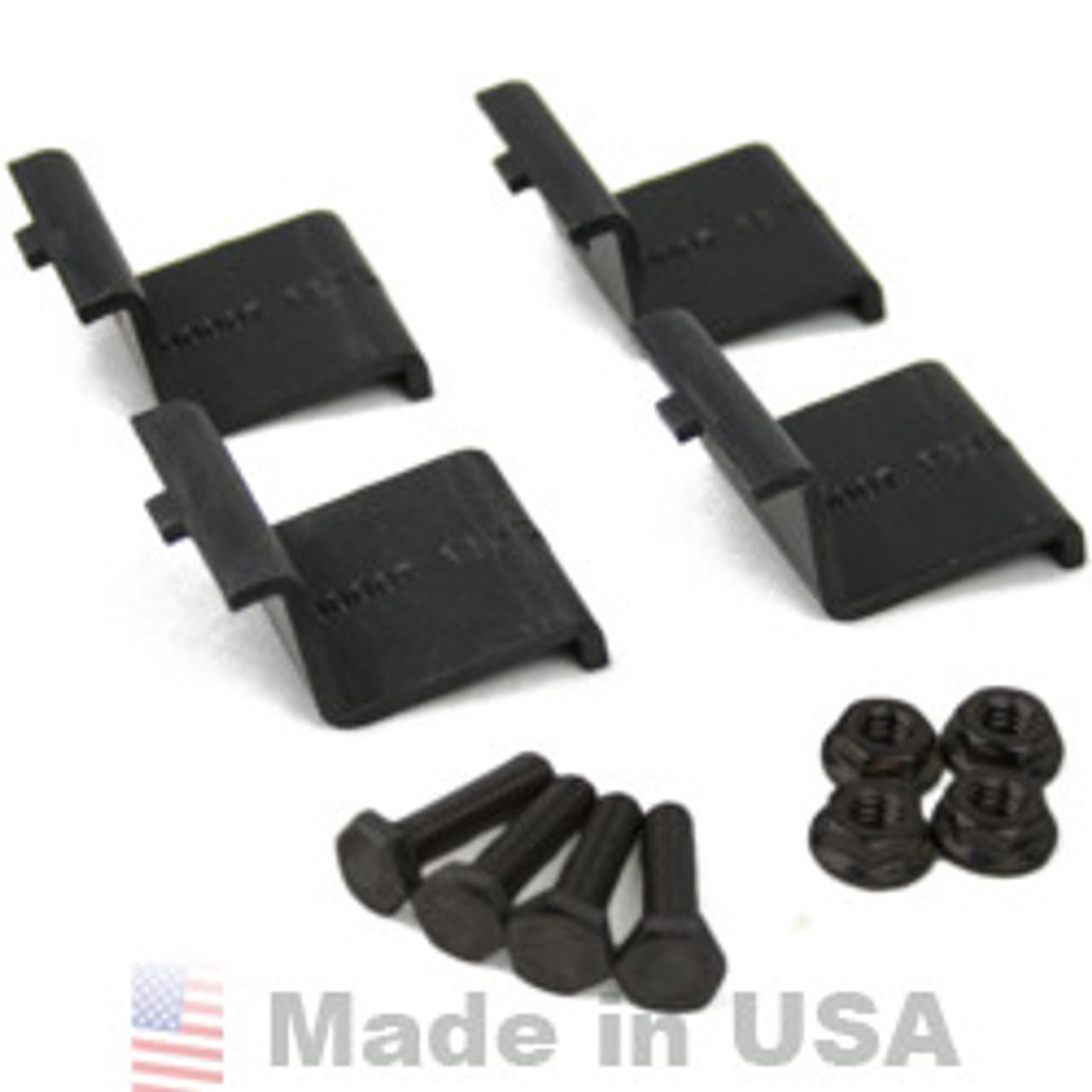 IronRidge XRS End Clamp Kit (4 Pack) K - black