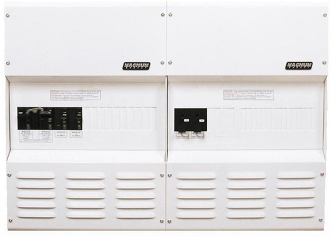 Magnum Panel Dual Enclosure High Power w/250A DC Breaker (fits 24 VDC)