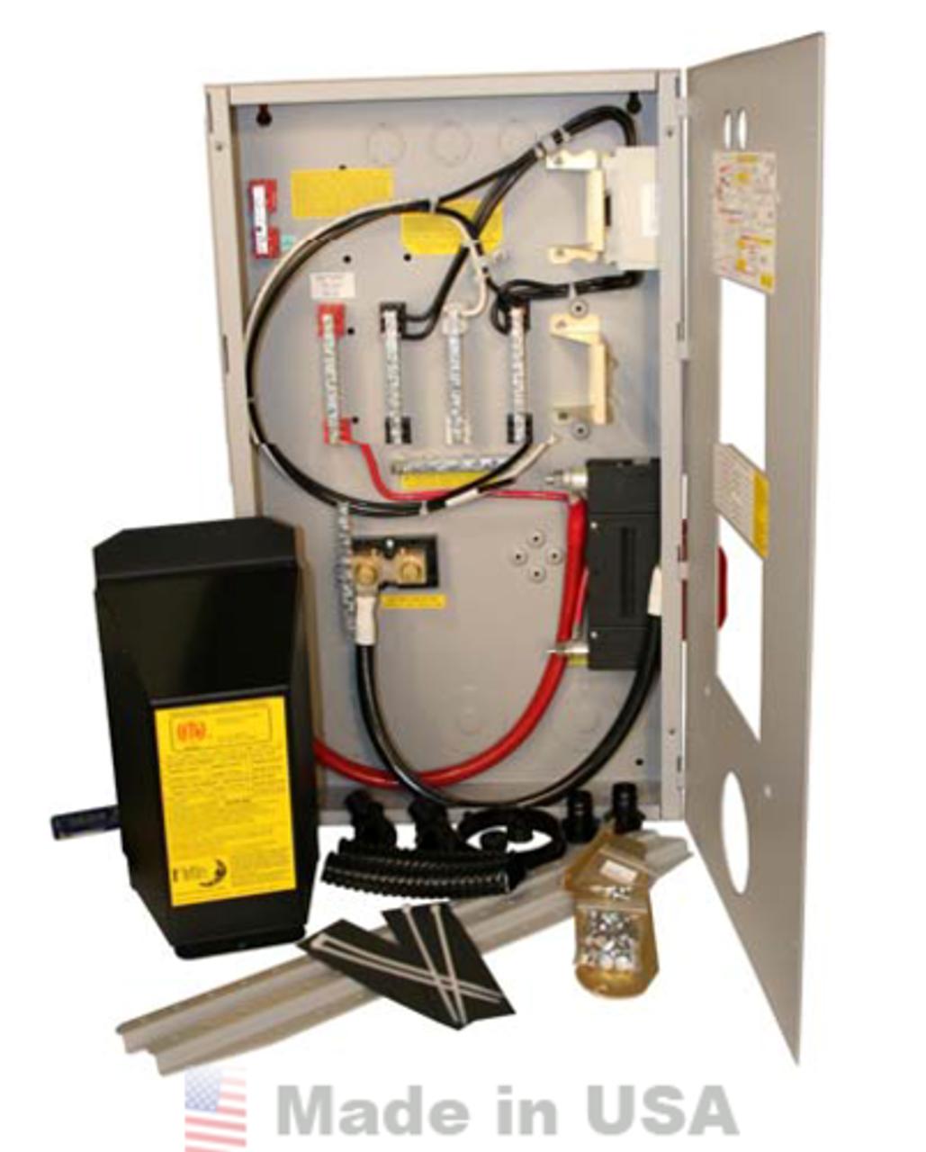 Midnite Solar E-Panel PLUS, Aluminum 250A for Outback Inverters