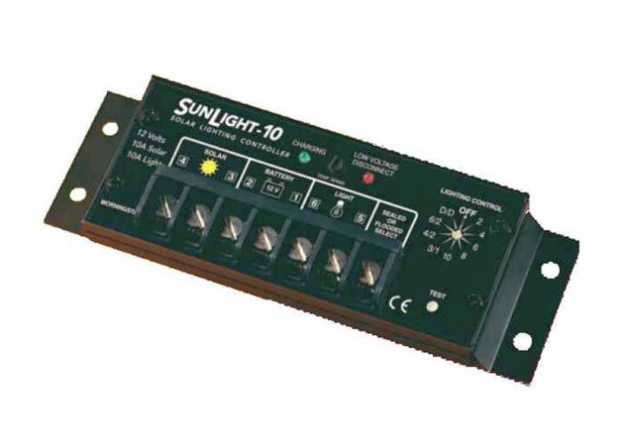 Morningstar SunLight SL-10L-24V 10A, Lighting Controller with LVD