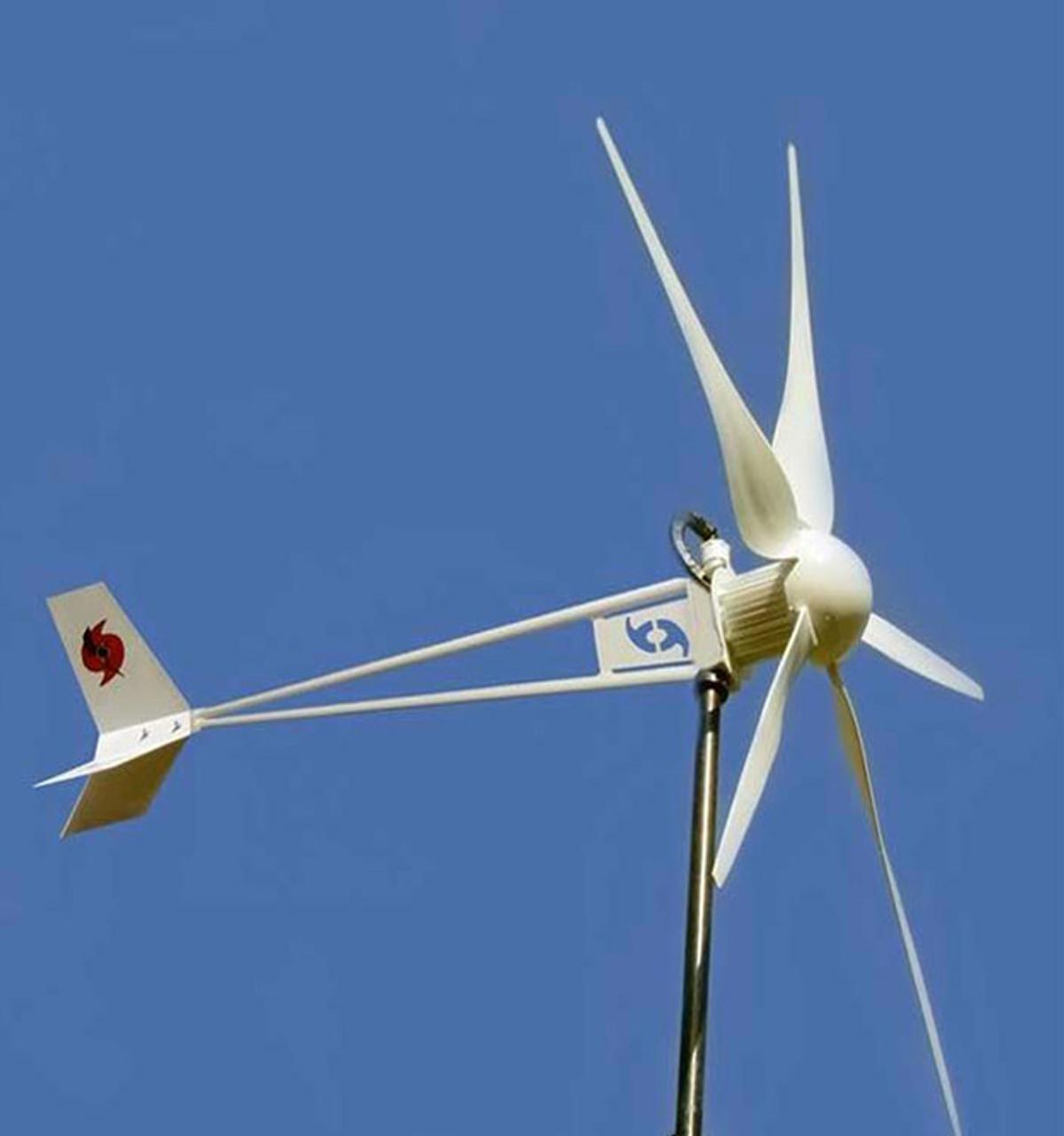 Home DIY Wind Generator Kit Hurricane Vector Wind Turbine 1000 Watt 24 Volt