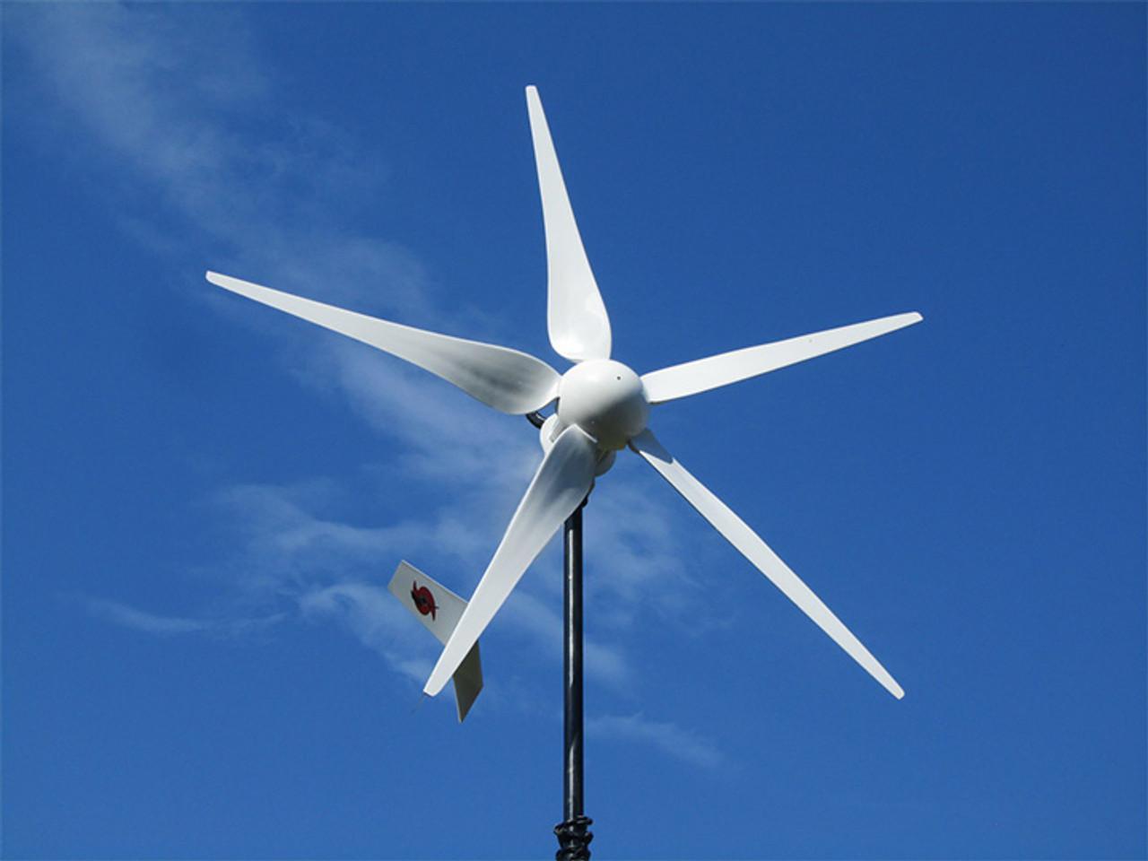 Home DIY Wind Generator Kit Hurricane Vector Wind Turbine 750 Watt 12 Volt