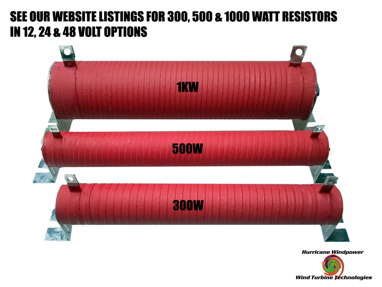 3.2 Ω 1000 WATT WIND GENERATOR & SOLAR RESISTOR DIVERSION DUMP LOAD 48V