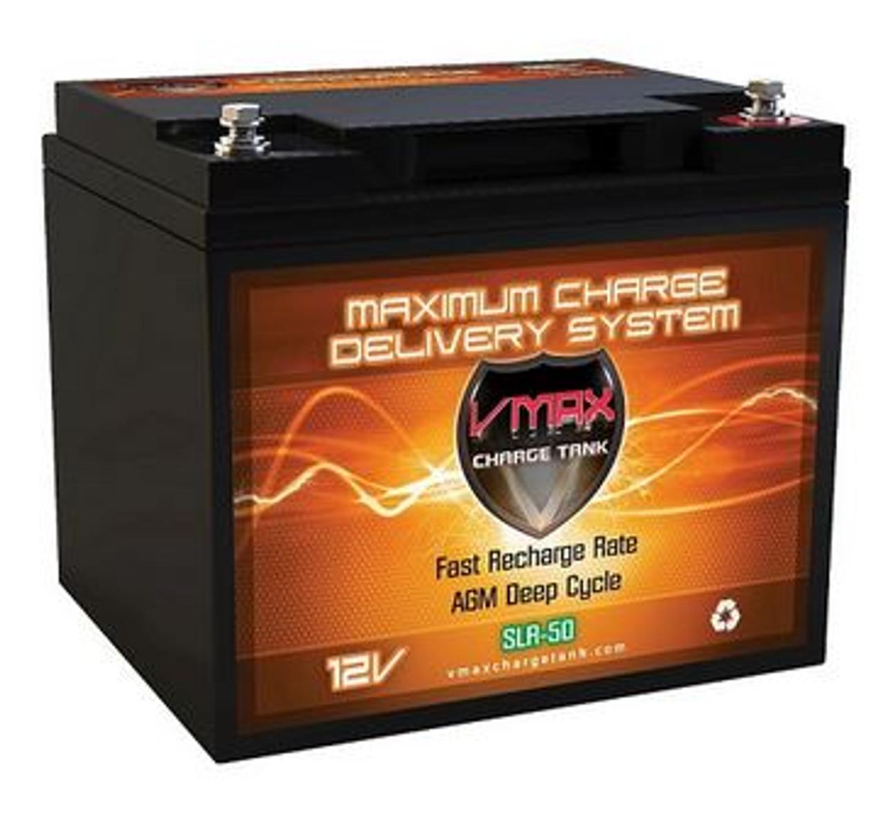 VMAX Charge Tank SLR50 AGM Solar Battery