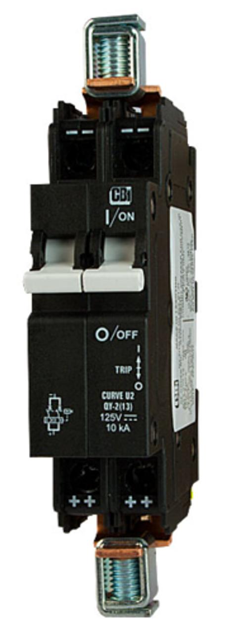 Midnite Solar MNEPV80 8A, 150VDC Din Rail Breaker