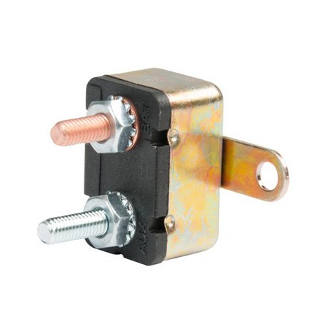 12 volt 40 Amp DC Auto Reset Circuit Breaker Type 1 for Wind, Solar, Automotive