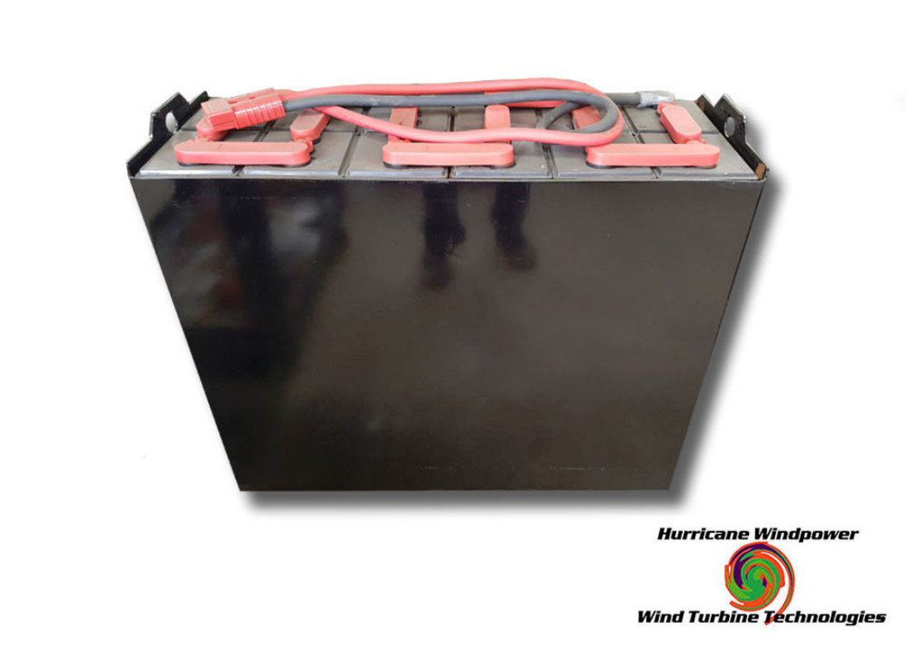24 Volt Fully Refurbished Forklift Battery w/Warranty 1380AH Capacity for Solar