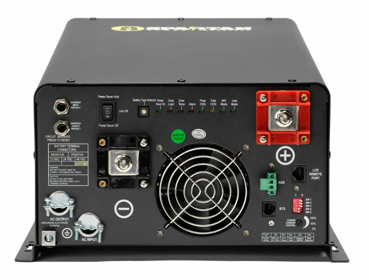 Spartan Power 4400 Watt 12V 120/240V Pure Sine Wave Inverter Charger SP-IC4412