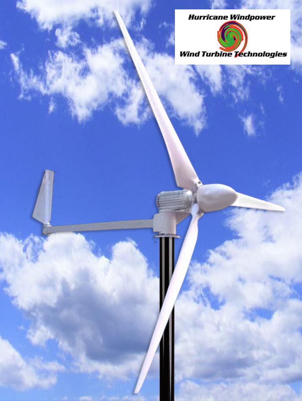 Hurricane BIG ASS Wind Turbine Generator Kit 1.5 KW 1500 Watts 24V Real Output