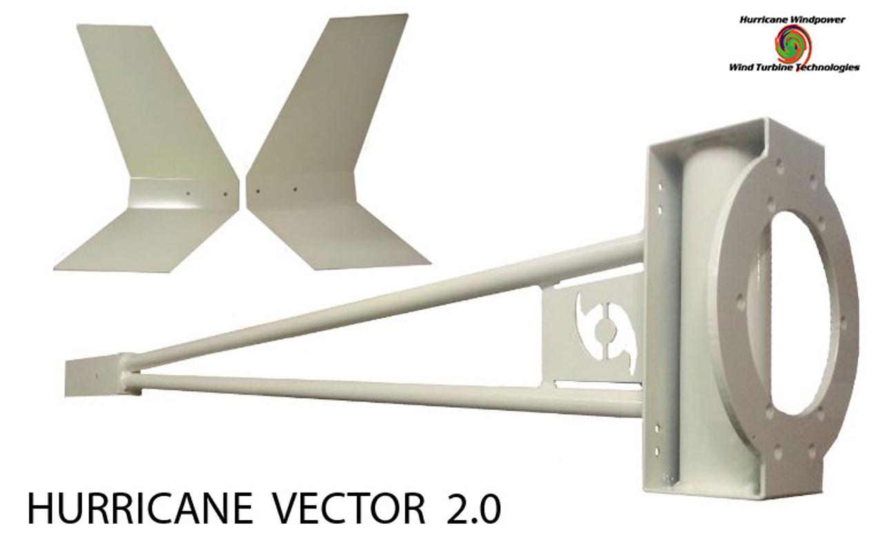 Home DIY Wind Generator Kit Hurricane Vector 2.0 Wind Turbine 1000 Watt 110 Volt