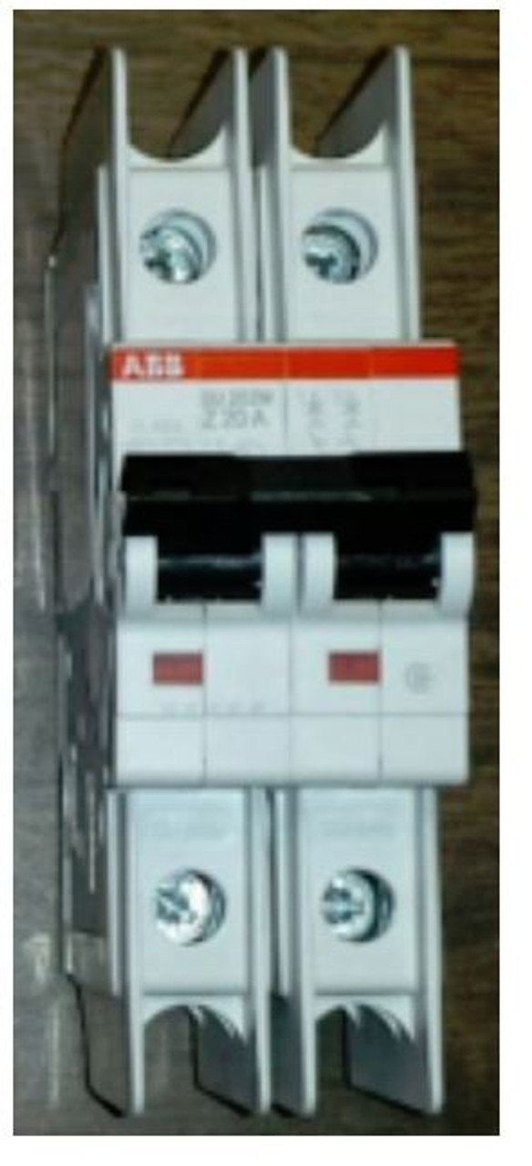 SOLADECK 2-POLE 15A 120/240 VAC MINI CIRCUIT BREAKER