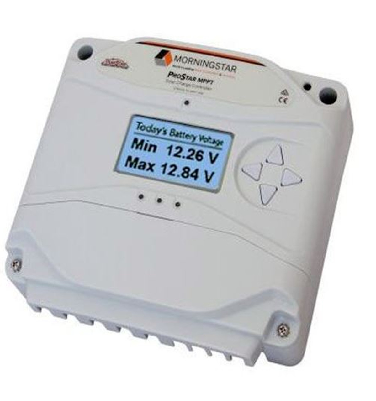 Morningstar PS-MPPT-40M ProStar MPPT Solar Charge Controller 12/24V, 40A with Meter Display