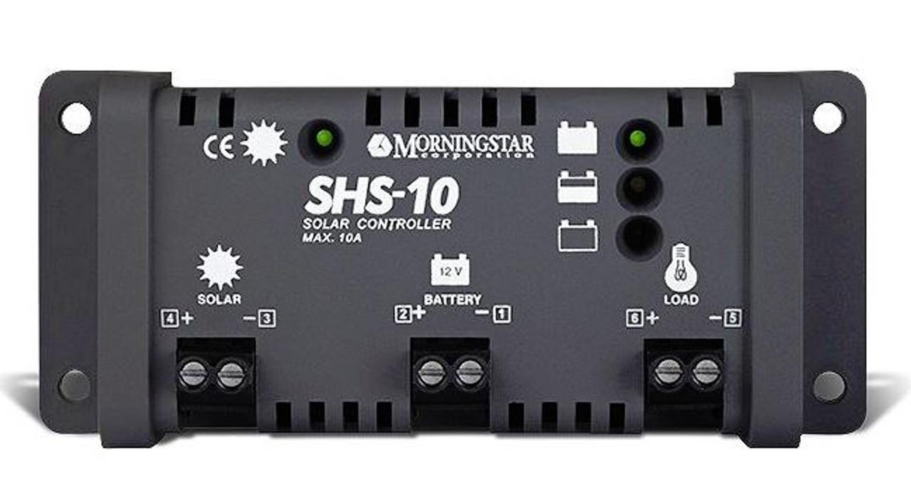 Morningstar SHS-10 Solar Charge Controller w/LVD 10 Amp 12 Volt