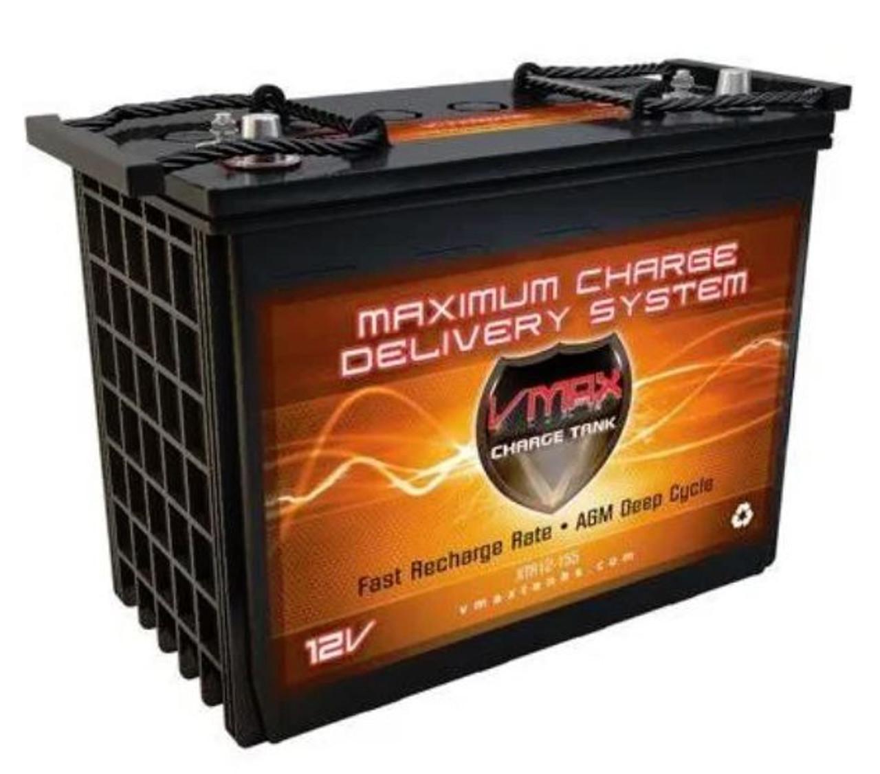 VMAX Charge Tank XTR12-155 12 Volts 155AH Deep Cycle, XTREME AGM Battery