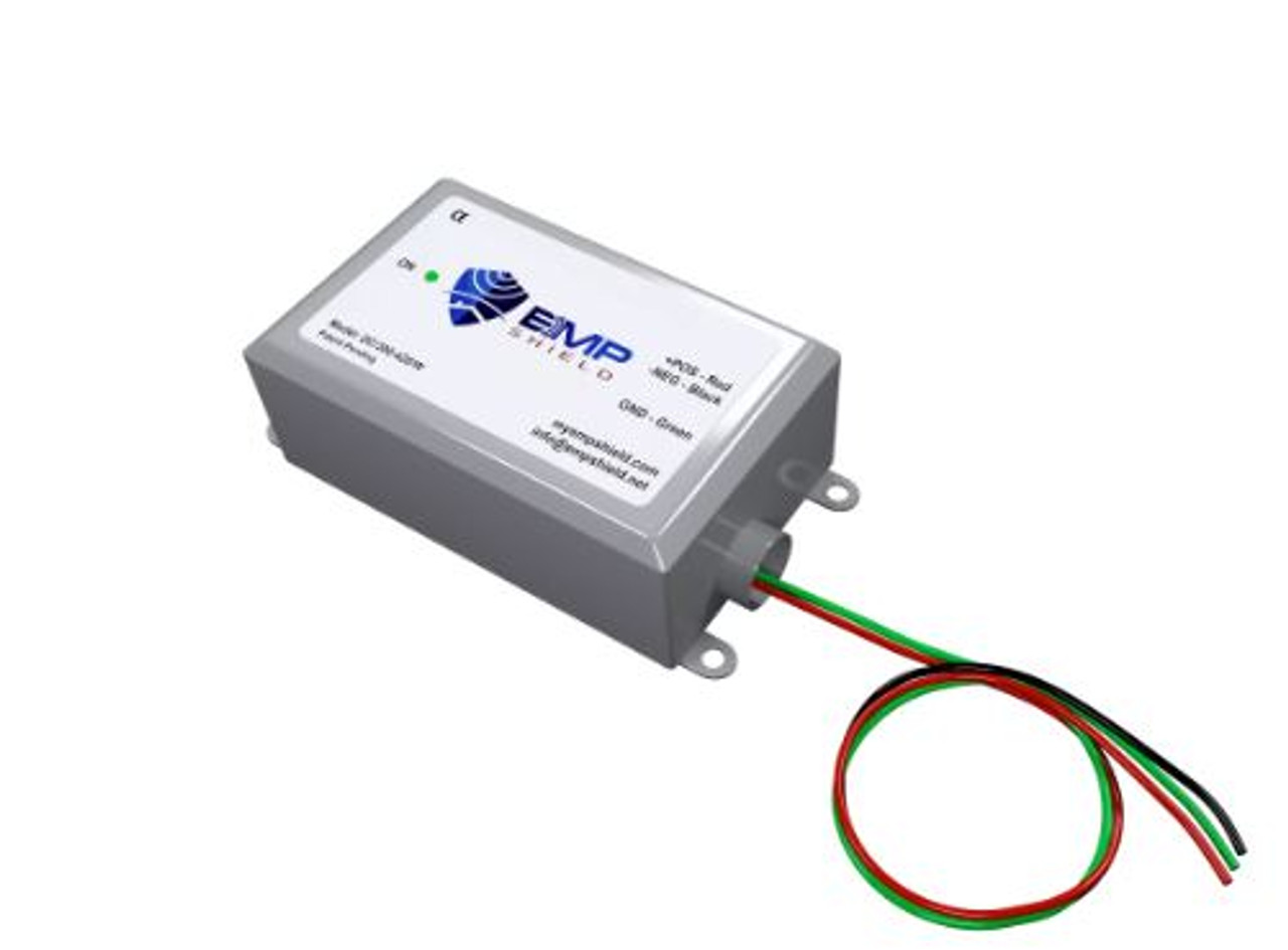EMP Shield 300-420 Volt Single DC for Solar Panel and Wind Generator Systems