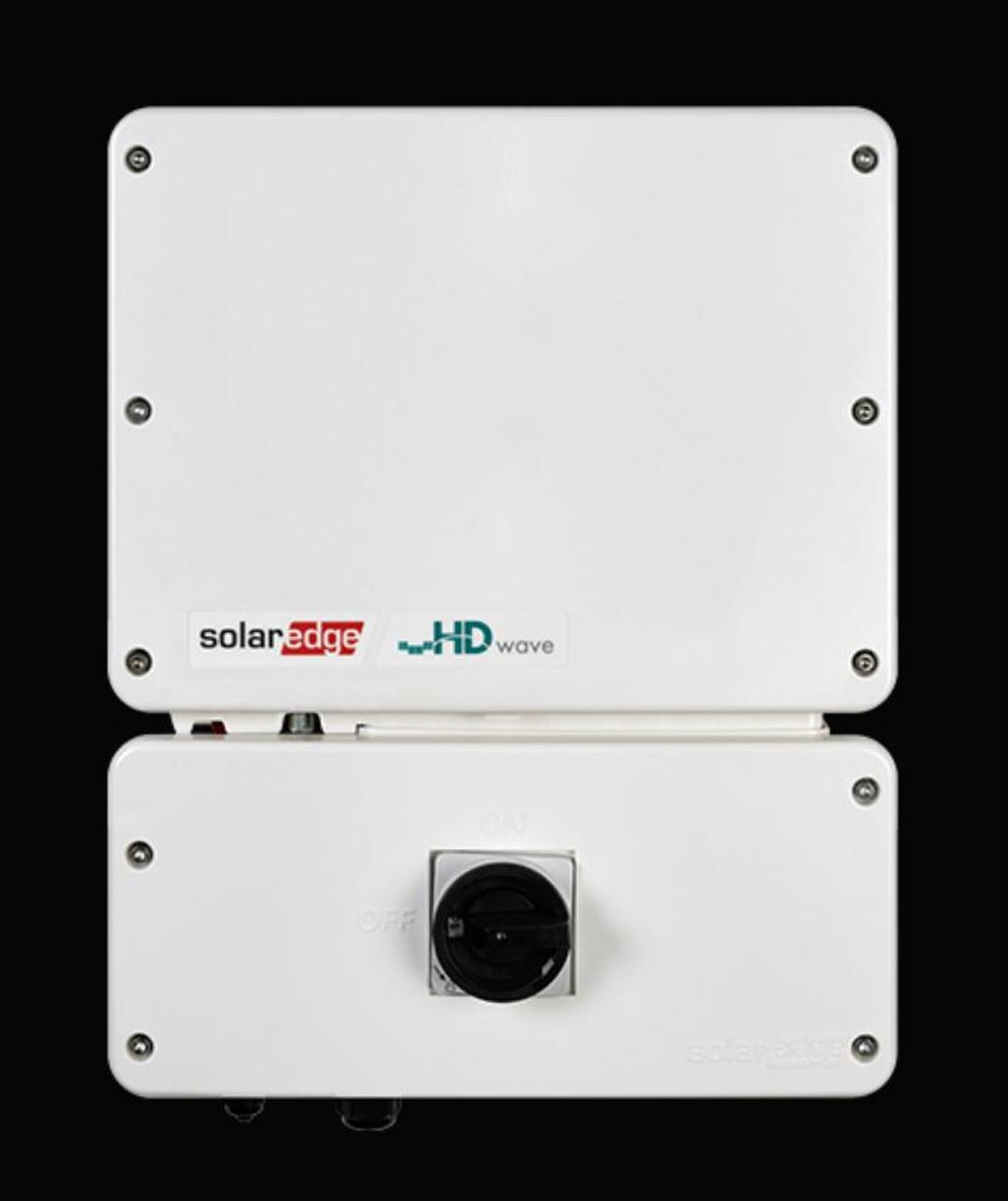 SolarEdge SE3800H-US HD Wave Grid Tie Inverter 3800W 240 VAC, String Inverter