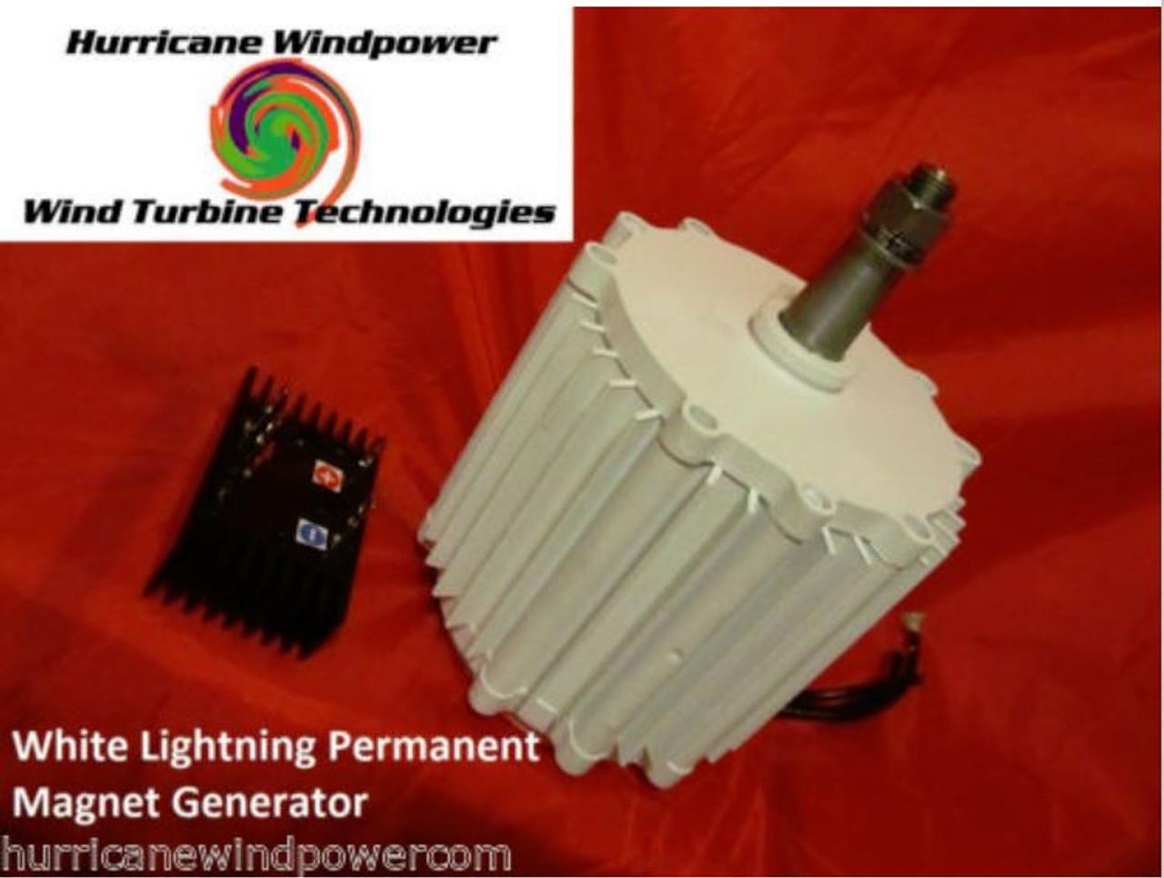 Hurricane XP Wind Turbine Generator Kit 1000 Watt 48 Volt Max 1500 Watts