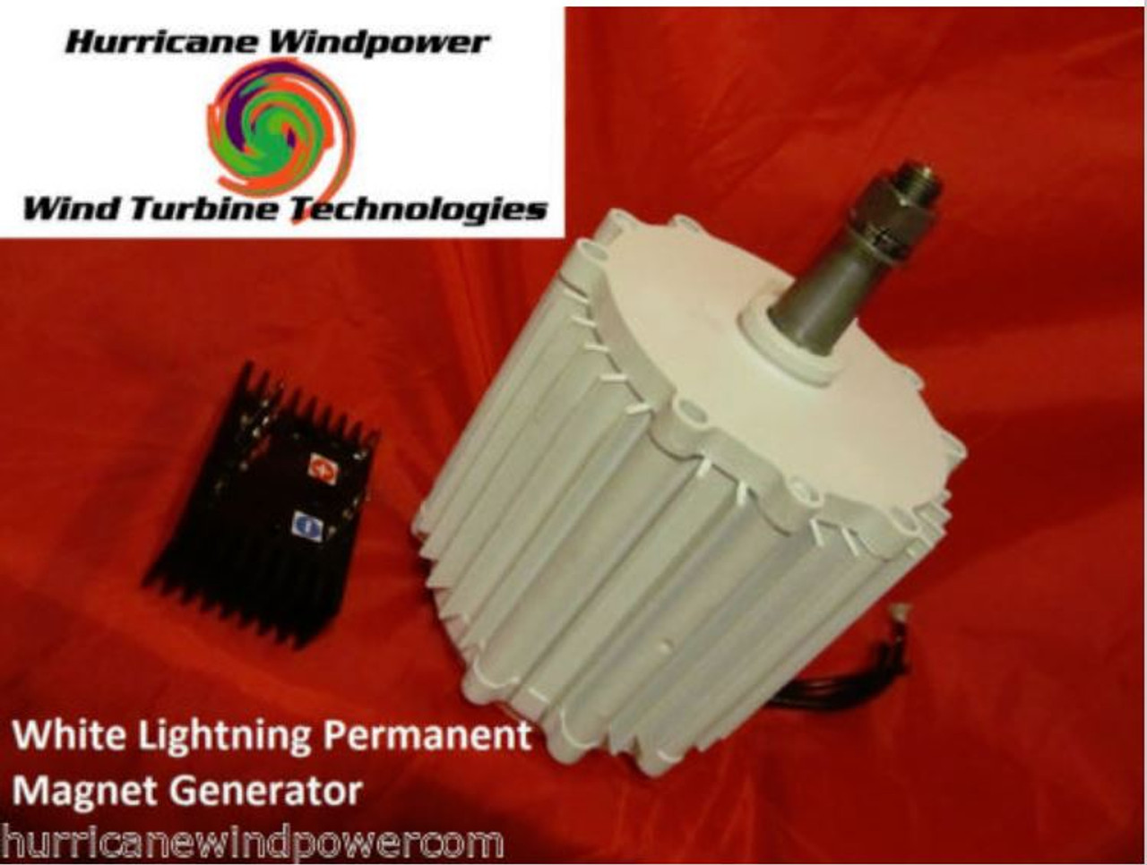 Hurricane XP Wind Turbine Generator Kit 1000 Watt 48 Volt Max 1500 Watts