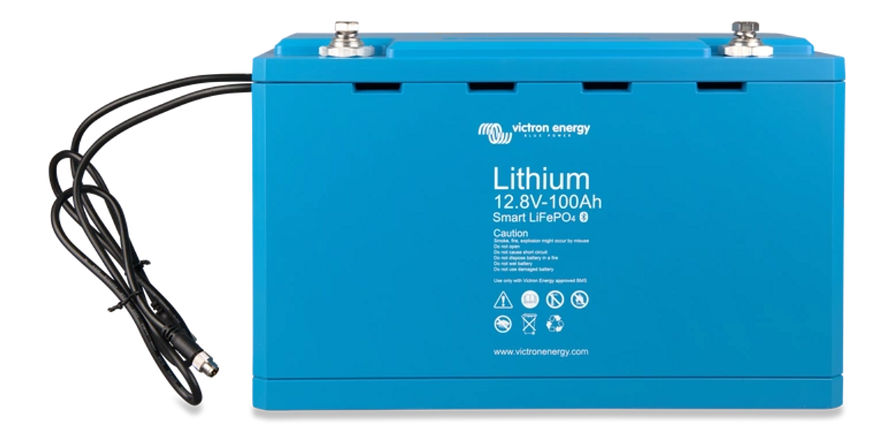 Victron Energy LiFePO4 Battery 12,8V/100Ah Smart BAT512110610