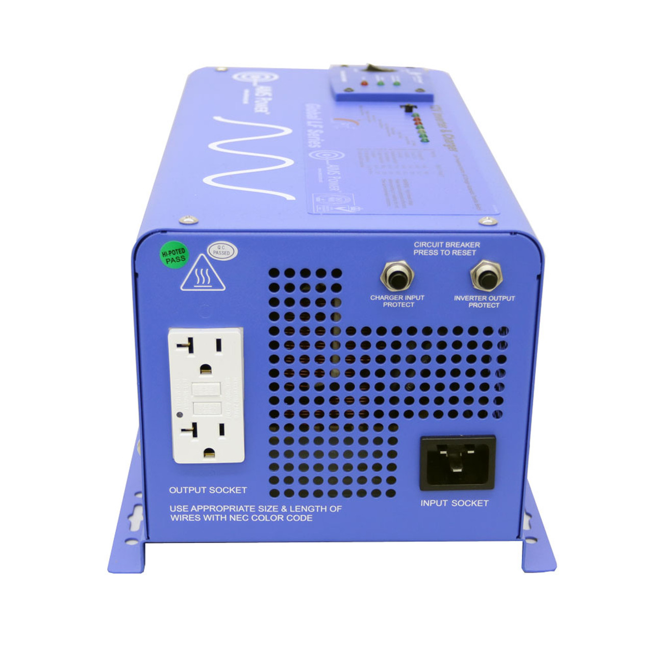 AIMS 1000 Watt Pure Sine Inverter Charger - 12 Volt