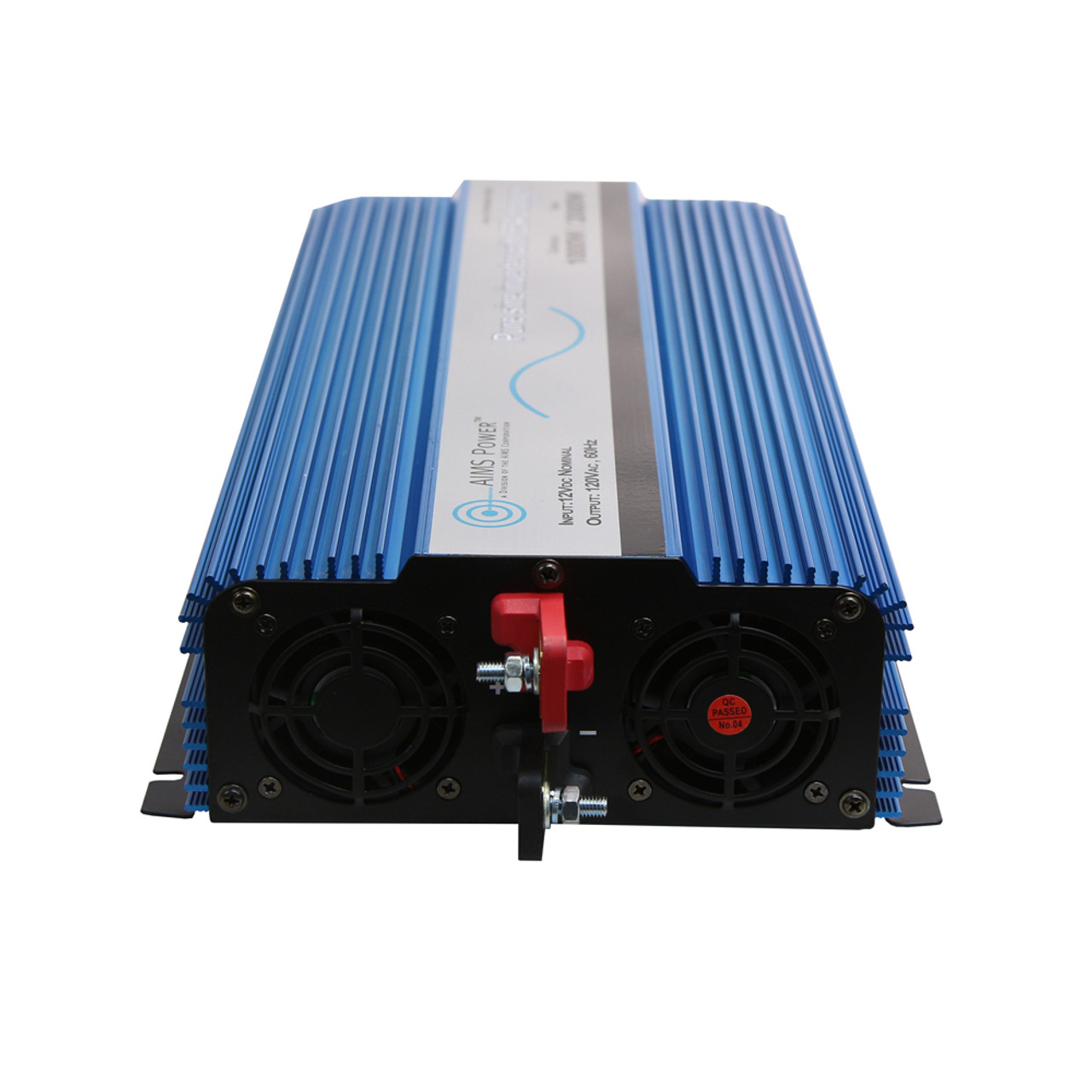 AIMS 1000 Watt Pure Sine Inverter Charger Hardwire Only