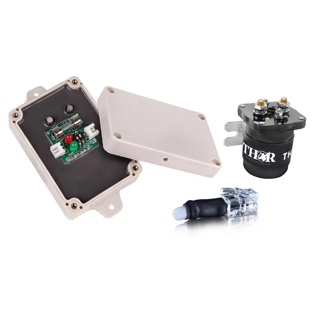 THOR 200Amp Isolator with Low Voltage Disconnect and Inverter By Pass Switch