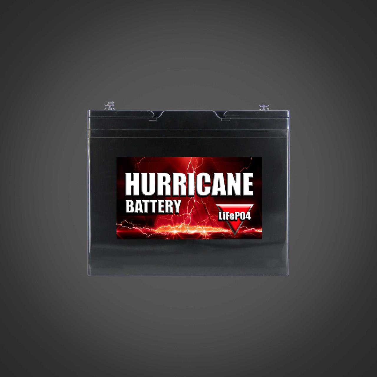 hurricane 100 amp hour lifepo4 battery