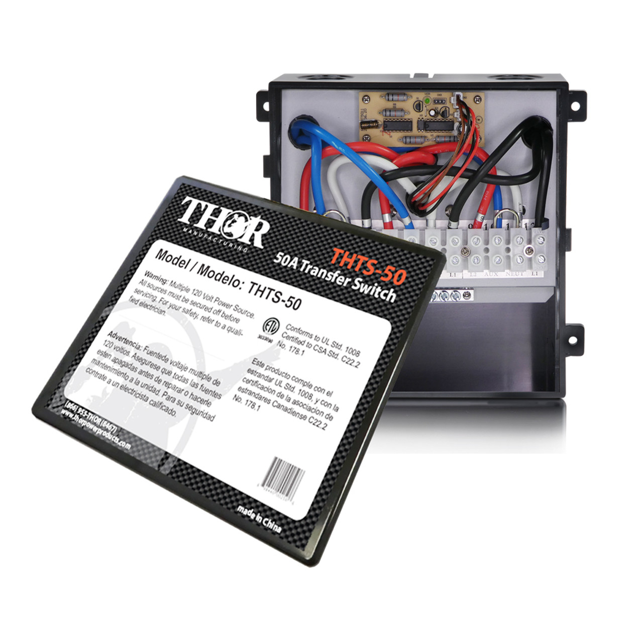 THOR THTS-50 50 Amp Transfer Switch
