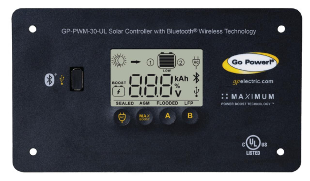 Go Power 100 WATT FLEXIBLE SOLAR KIT