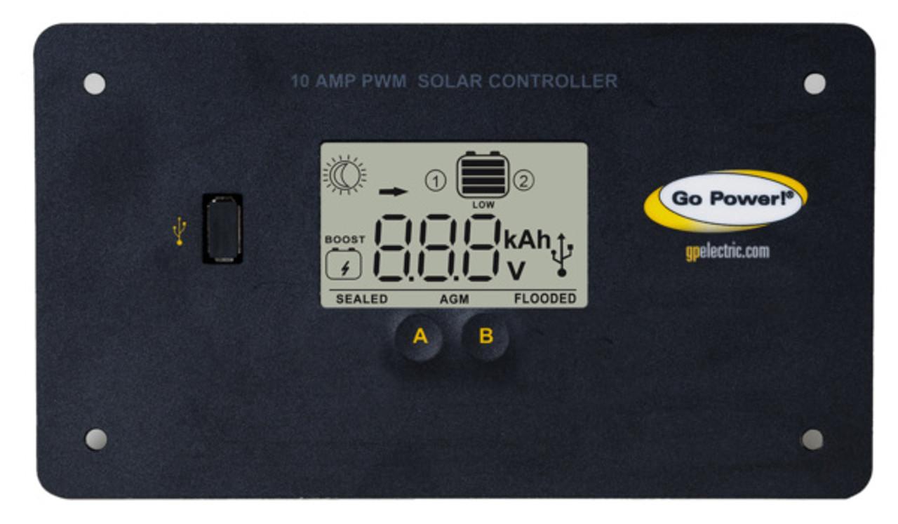Go Power 130-Watt Portable Solar Kit