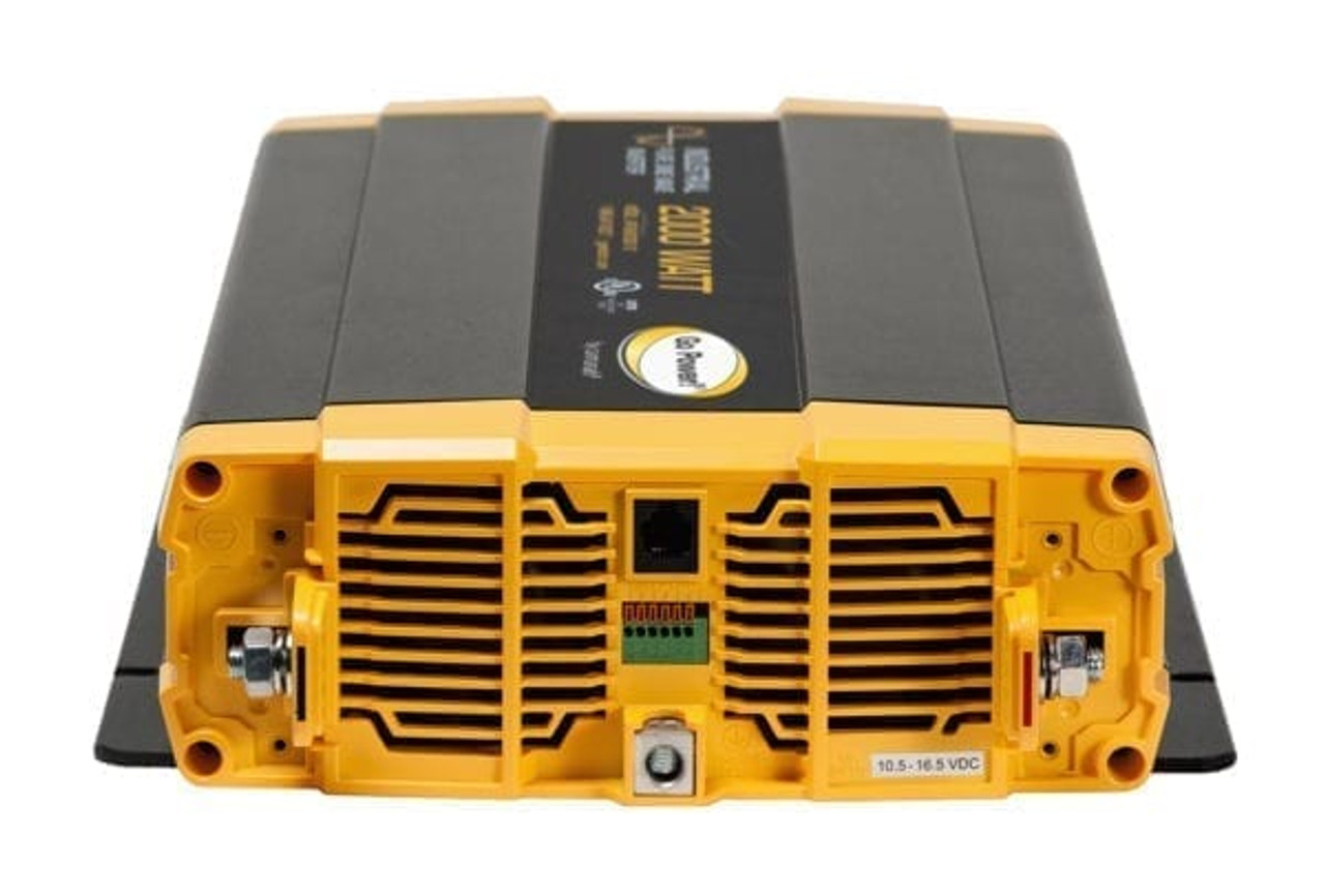Go Power 2000 Watt Industrial Pure Sine Wave Inverter 12v