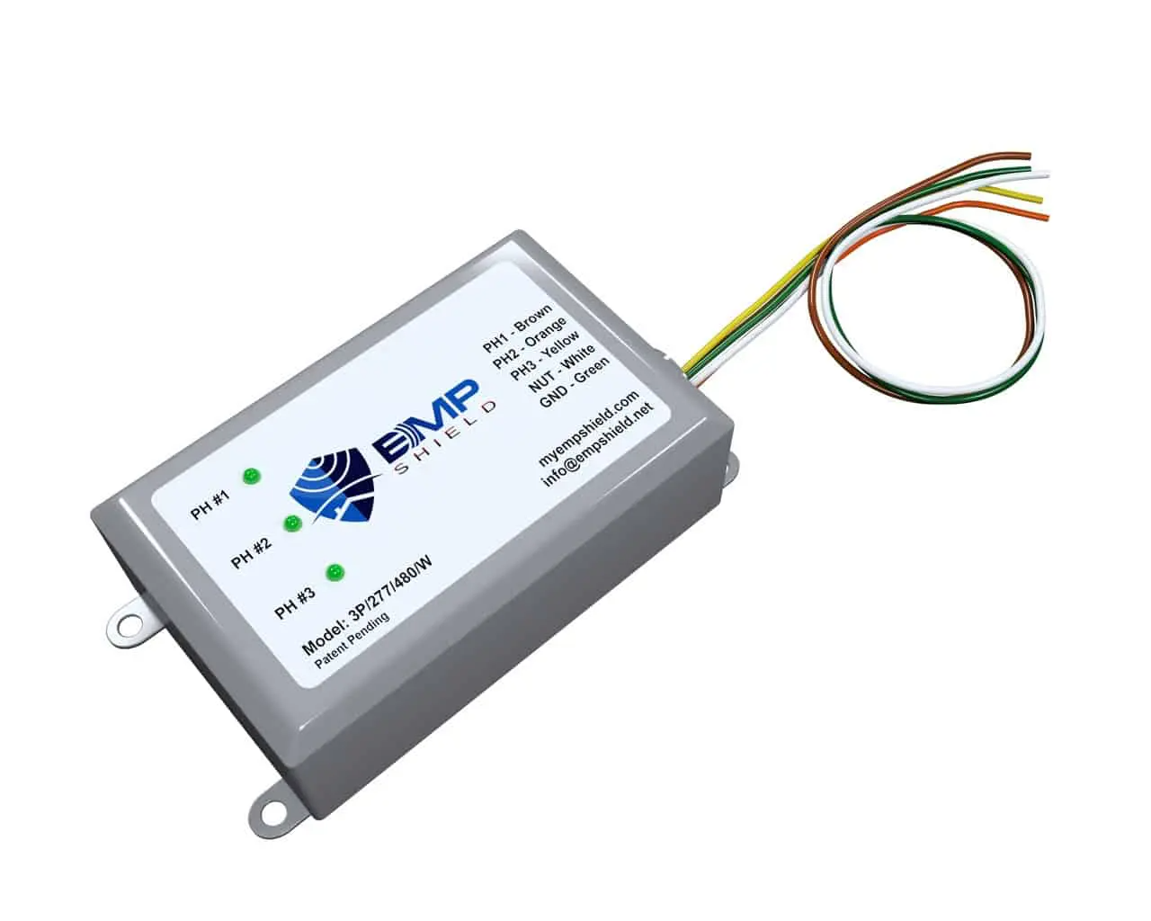 EMP Shield – 3 Phase 277-480 Volt AC EMP, CME, and Lighting Protection