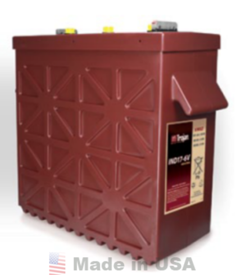 Trojan IND17-6V Industrial Line-Deep-Cycle Flooded Battery